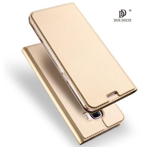 Dux Ducis Premium Magnet Case Grāmatveida Maks Telefonam LG H870 G6 Zeltains