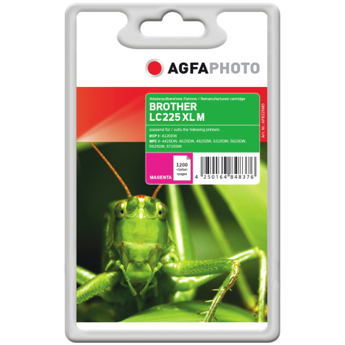 AgfaPhoto APB225MD 1200pages Magenta ink cartridge