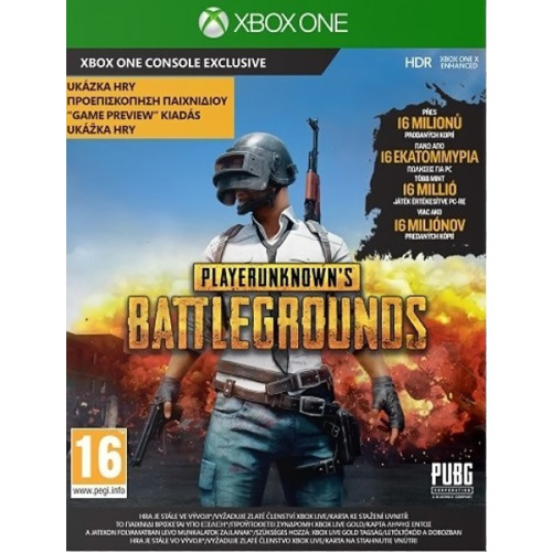 923f453effe Xbox One Playerunknowns's Battlegrounds Game Preview Edition