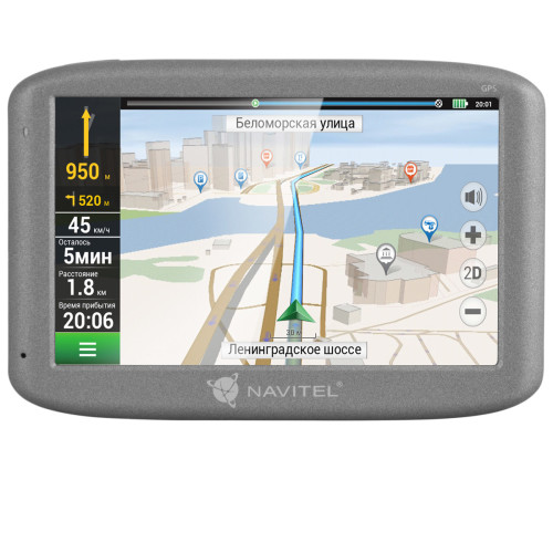 "Navitel Personal Navigation Device E500 Maps included, GPS (satellite), 5"" TFT touchscreen,"
