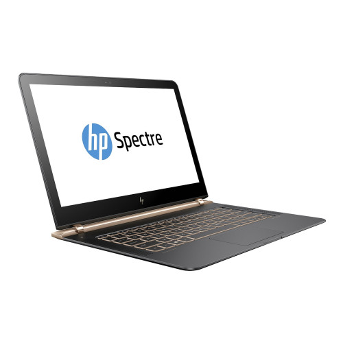 HP Spectre 13-v106na i5-7200U/ 13.3 FHD BV/ 8GB/ 256GB/ No ODD/ BL kbd/ 3 USB-C/ USB 3.0 adap/ Dark ash silver/ W10H6