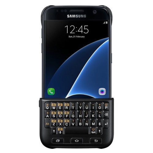 Samsung Keyboard Cover for Galaxy S7 G930  Black