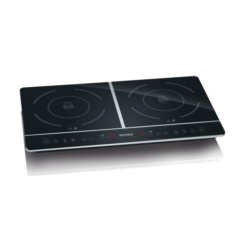 Severin DK 1031 hob Tabletop Zone induction hob Black