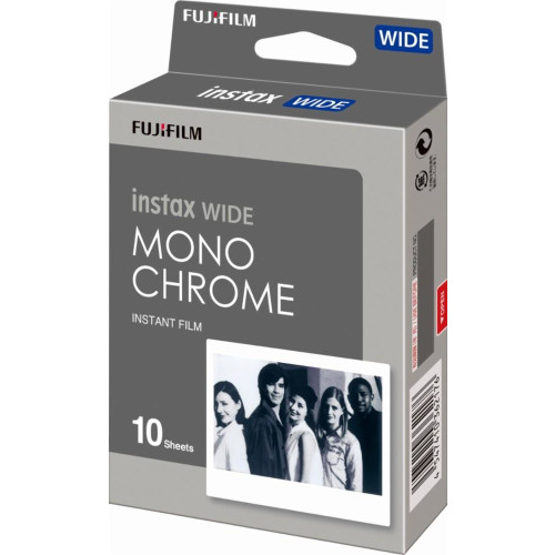 FILM MONOCHROME INSTAX WIDE/10PCS FUJIFILM