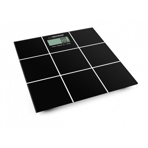 Esperanza EBS004 personal scale Electronic personal scale Rectangle Black