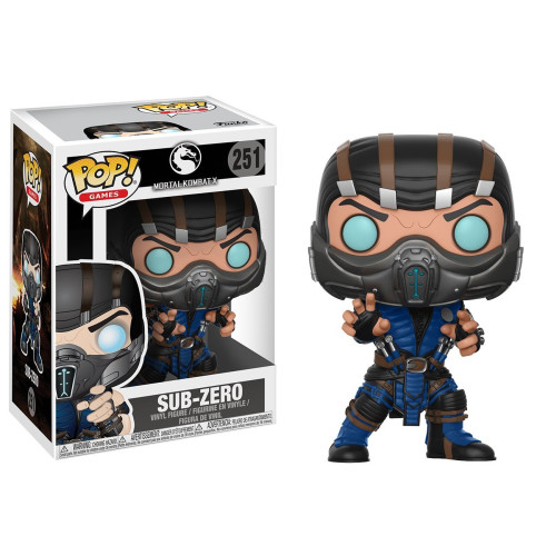 POP! Games: Mortal Kombat X - Sub-Zero Vinyl Figure