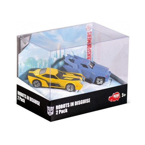Robots in disguise 2 Pack, 3-asst.