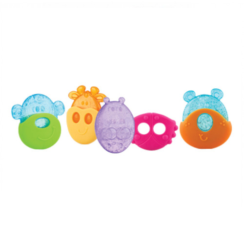 Animal Ice Gel Teether with Sleeve