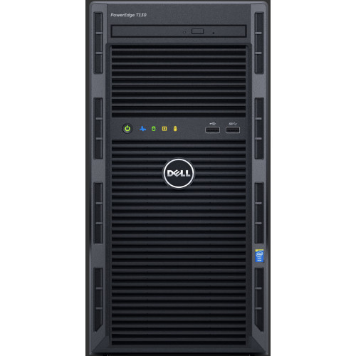 DELL PowerEdge T130 server 3 GHz Intel® Xeon® E3 v6 E3-1220 v6 Mini Tower 290 W