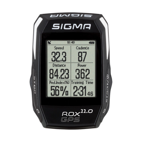 "Sigma ROX GPS 11.0 Wireless bicycle computer Black 4.32 cm (1.7"")"