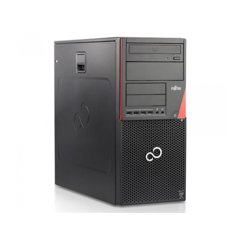 Fujitsu ESPRIMO P720 Tower G3220, 8GB RAM, 500GB HDD, SC reader, DVDRW, Windows 10 Pro