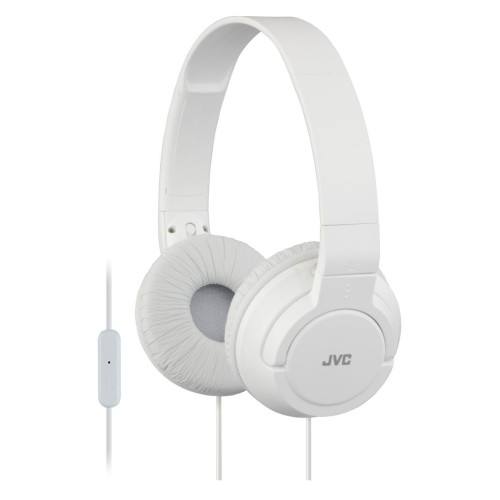 JVC HA-SR185 Head-band Binaural Wired White mobile headset
