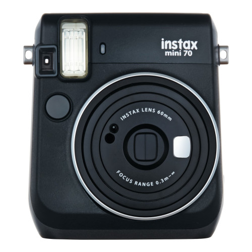 Fujifilm instax mini 70 62 x 46mm Black instant print camera