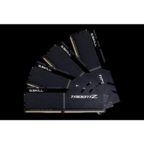 G Skill DDR4 32 GB 3600-CL16 - Quad-Kit - Trident Z Black