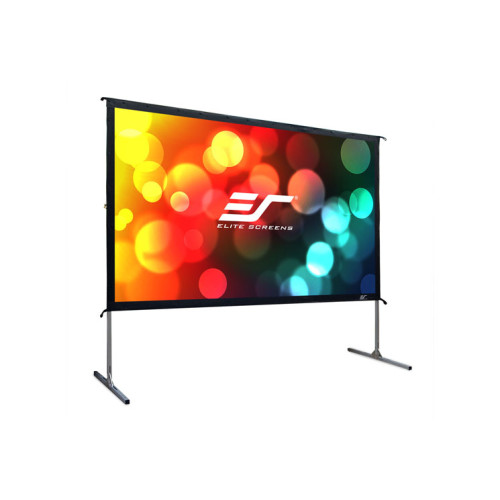 "Elite Screens OMS120H2 120"" 16:9 White projection screen"