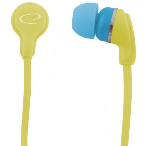 Esperanza EH147Y Yellow Intraaural In-ear headphone