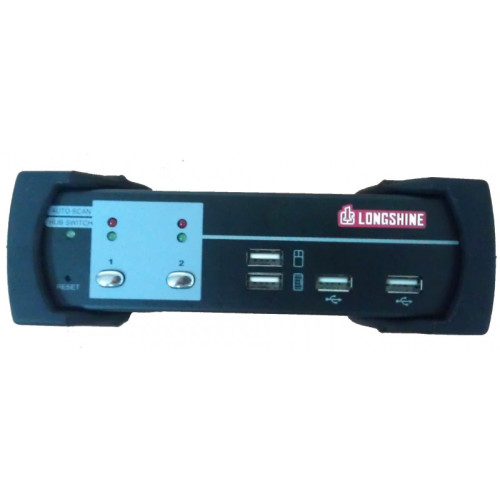 Longshine LCS-K702D KVM switch Black