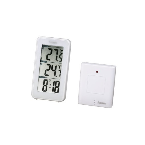 Hama 00123126 White digital weather station