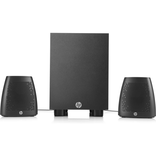 HP 400 speaker set 2.1 channels 8 W Black