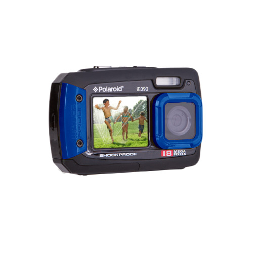Polaroid iE090 Compact camera 18 MP CCD Black, Blue