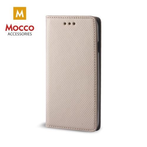 Mocco Smart Magnet Book Case Grāmatveida Maks Telefonam Samsung J600 Galaxy J6 (2018) Zeltains