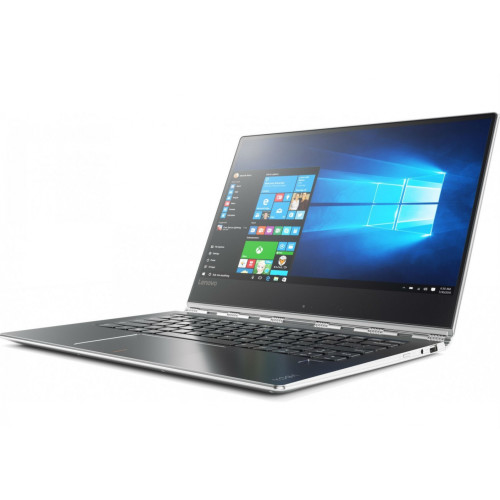 "Lenovo Yoga 910 Silver Hybrid (2-in-1) 35.3 cm (13.9"") 1920 x 1080 pixels Touchscreen 2.70 GHz 7th gen Intel® Core™ i7 i7-7500U"