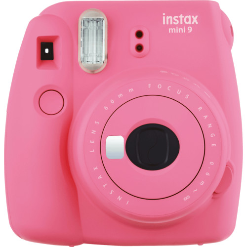 Fujifilm Instax Mini 9 + 10 instant picture film instant print camera 62 x 46 mm Pink