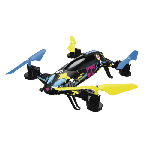Hama Racemachine camera drone Quadcopter Black, Blue, Yellow 4 rotors 800 mAh