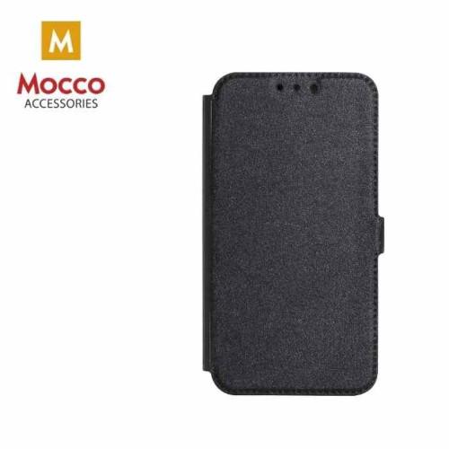 Mocco Shine Book Case Grāmatveida Maks Telefonam Huawei Y7 / Y7 Prime (2018) Melns