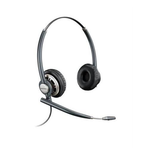 Plantronics HW720 Binaural Head-band Black headset