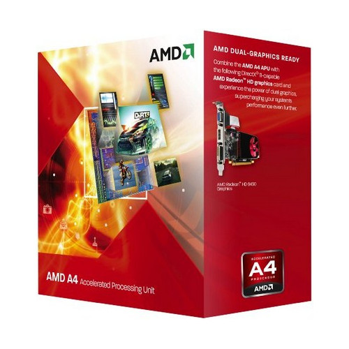 AMD A series A4-5300 processor 3.4 GHz Box 1 MB L2