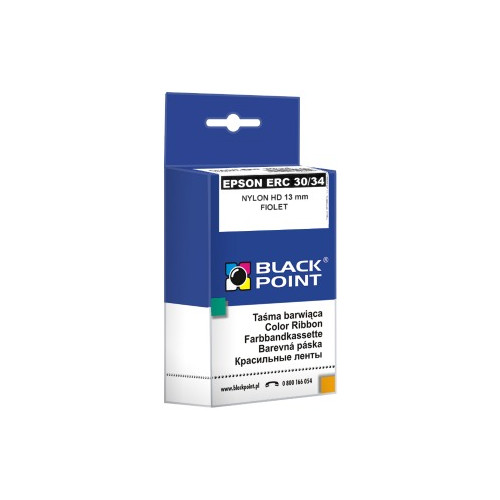 Ribbon Black Point KBPE30F | Violet | Nylon | Epson ERC-30,34