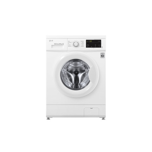 LG FH2J3WDN0 washing machine Freestanding Front-load White 6.5 kg 1200 RPM A+++