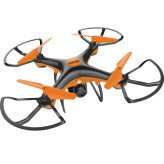 Denver Electronics DCH-240 camera drone Quadcopter Black, Orange 4 rotors 300 mAh