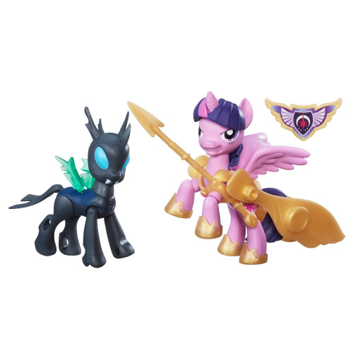 Hasbro My Little Pony Guardians Of Harmony Princess Twilight Sparkle Vs. Changeling 2pc(s) Multicolour Girl