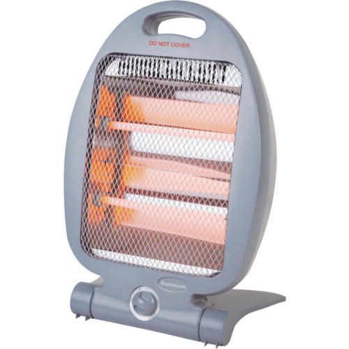 Ravanson QH-01 electric space heater Quartz space heater Grey 800 W