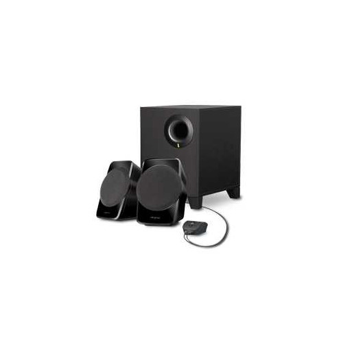 Creative Labs A120 2.1channels 9W Black speaker set