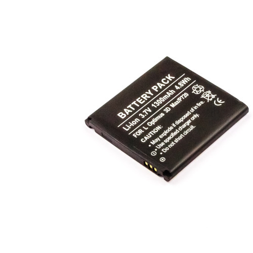 MicroBattery MBXLG-BA0011 mobile phone spare part Battery Black