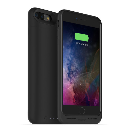 "Mophie Juice pack air mobile phone case 14 cm (5.5"") Shell case Black"