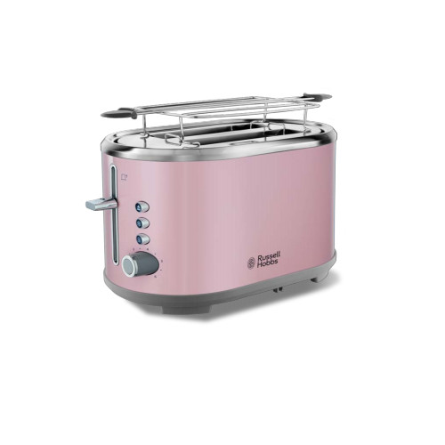 Russell Hobbs 25081-56 toaster 2 slice(s) Pink, Stainless steel 930 W