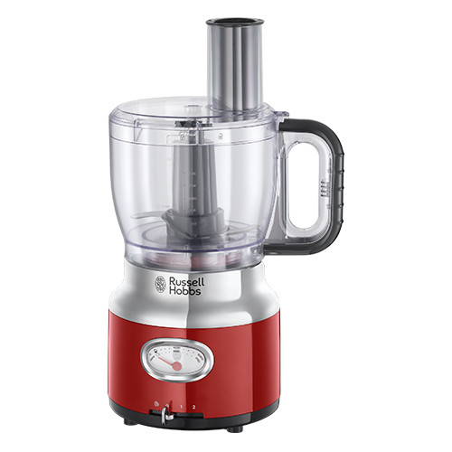 Russell Hobbs Retro food processor 2.3 L Red 850 W